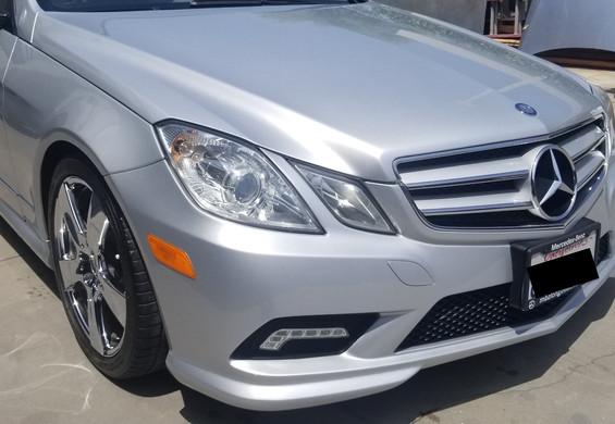 Mercedes E550 after