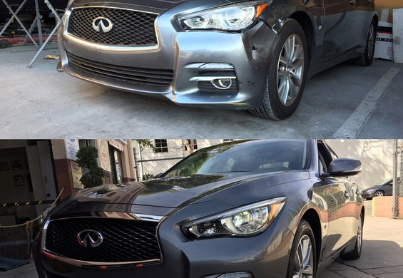 2015 Q50 before / after
