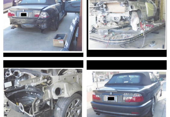 2005 BMW 325CI before/during/after