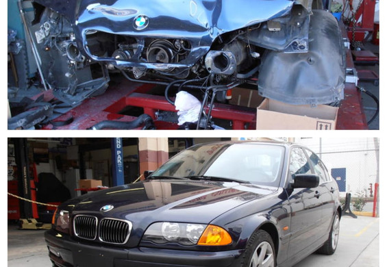 2001 BMW 330i during/after