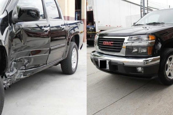 2012 GMC Canyon before/after