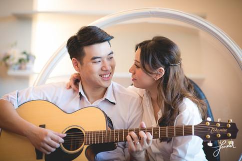 พรีเวดดิ้ง | คู่รักเล่นกีต้าร์ | FenderFoto