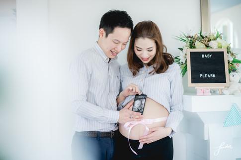 Familyportrait | FenderFoto | คุณแม่ตั้งครรภ์