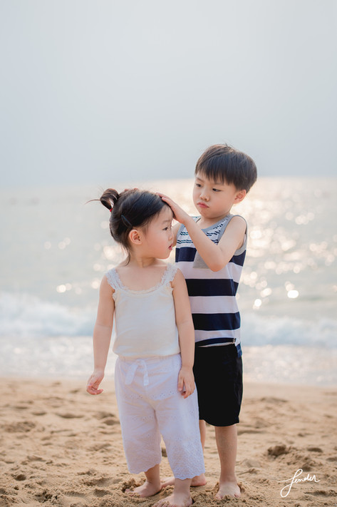Familyportrait | FenderFoto | ภาพพี่น้องน่ารัก
