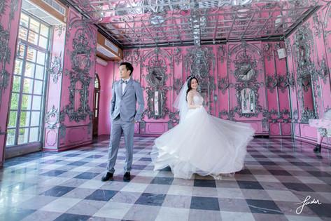 พรีเวดดิ้งชุดแต่งงาน   ความรักสีชมพู   Fenderfoto