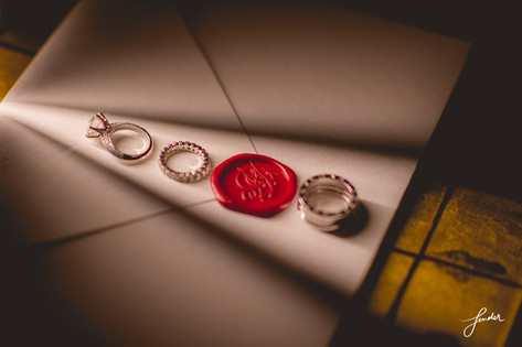 WeddingCeremony   FenderFoto   ถ่ายการ์ดและแหวน