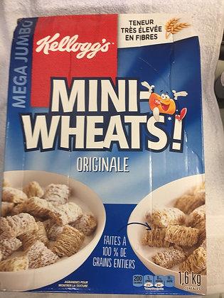 Céréales Mini Wheat 1.6kg