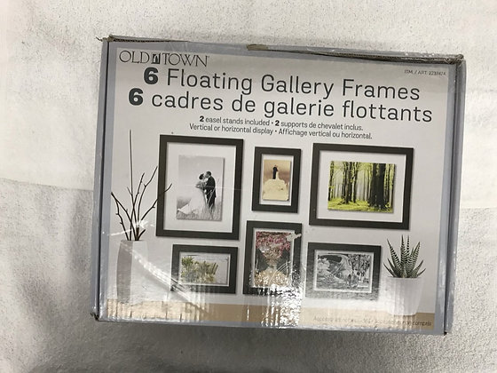 6 CADRES DE GALERIE FLOTTANTS