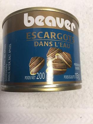 BEAVER ESCARGOT DANS L'EAU 200 gr