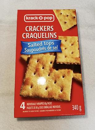 CRAQUELINS CRACKERS SALÉS 340G
