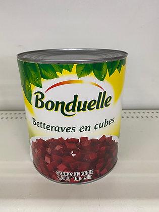 BONDUELLE BETTERAVES CUBES 2.84L