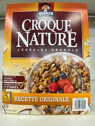 CÉRÉALES CROQUE NATURE 1.8KG