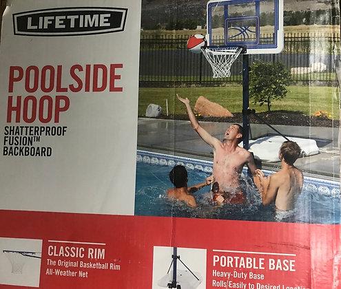 Panier de basketball pour piscine