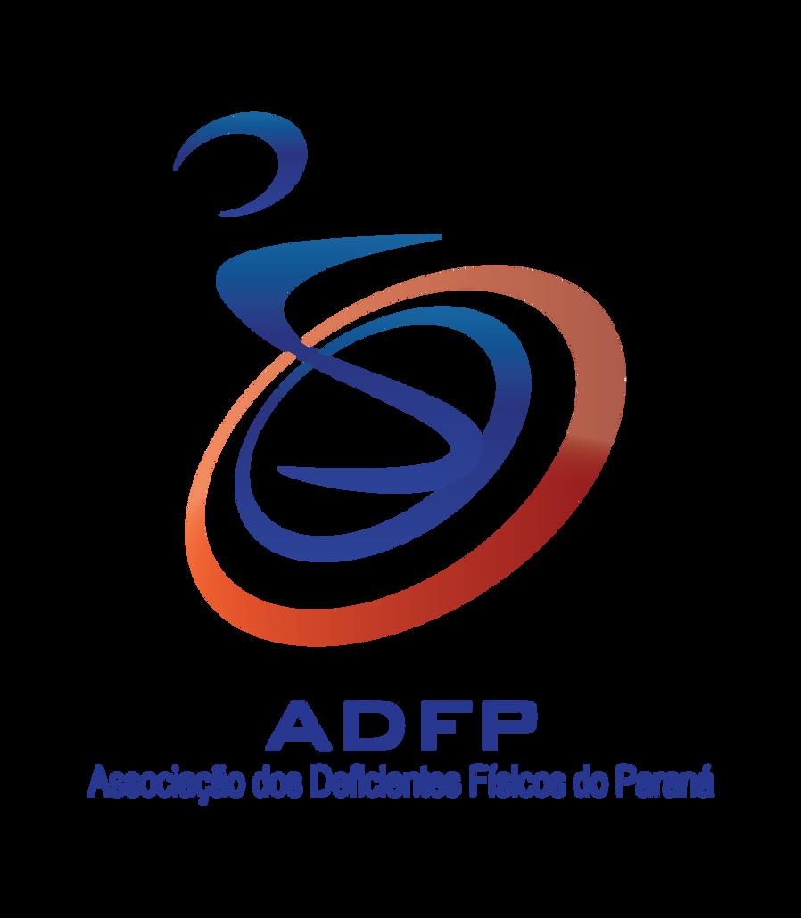 Logotipo da Associação dos Deficientes Físicos do Paraná.