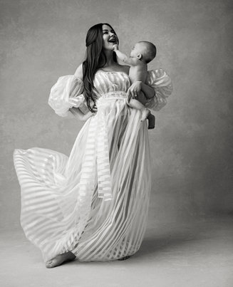 Motherhood portrait