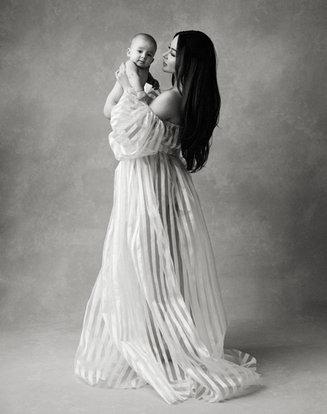 Mother child portrait