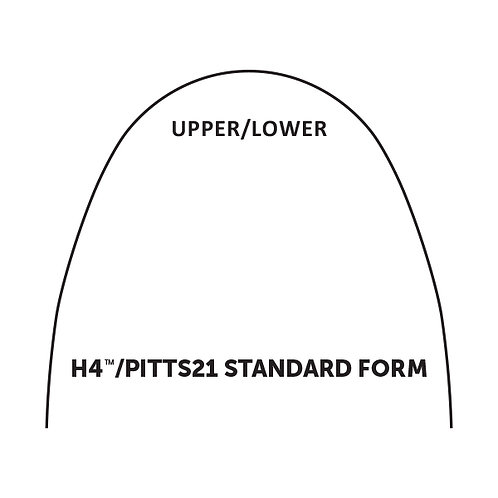 H4/Pitts21 Standard Archwire