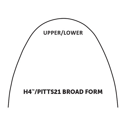 H4/Pitts21 Broad Archwire