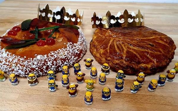 Gâteau des rois et Galette des rois