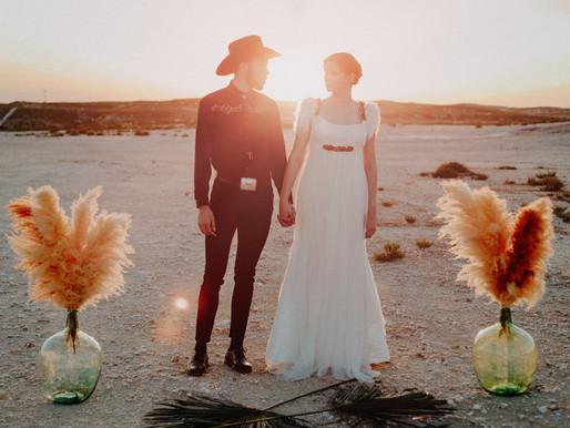¿Por qué no una boda country?