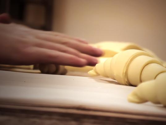 Confection de vos croissants