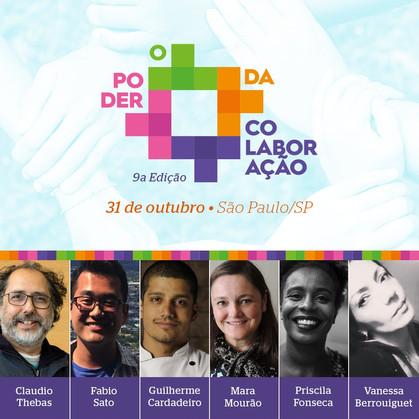 9ª edição de O Poder da Colaboração reúne iniciativas voltadas para a sustentabilidade e empreendedo