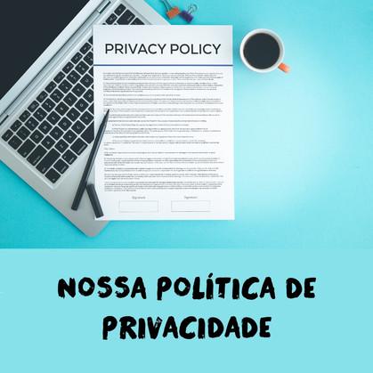 Política de Privacidade do Site