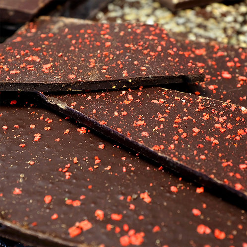 Chocolat Noir au Piment d'Espelette - 100g
