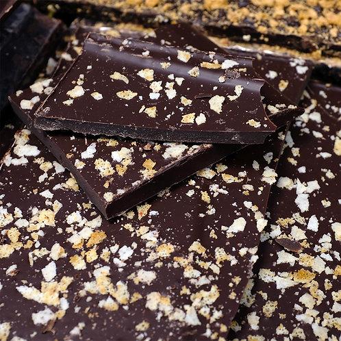 Chocolat Noir Caramel Beurre Salé - 100g