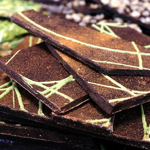 Chocolat Noir Pomme Canelle - 100g