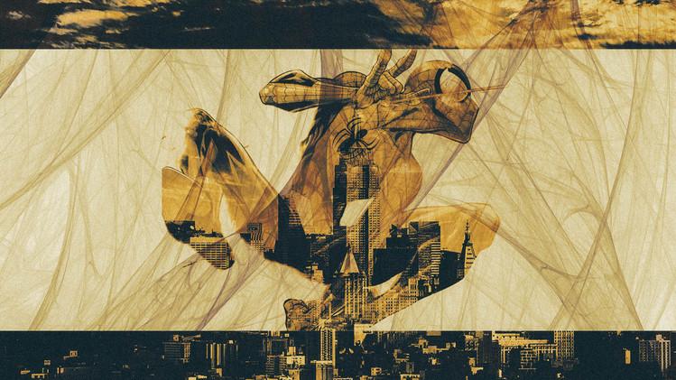 Layered Spider-Man