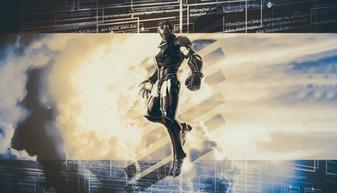 Cobalt Iron Man