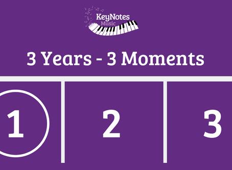 3 Years, 3 Aha Moments