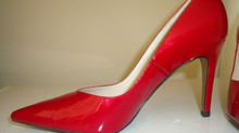 Red shoes, more versatile then you think.