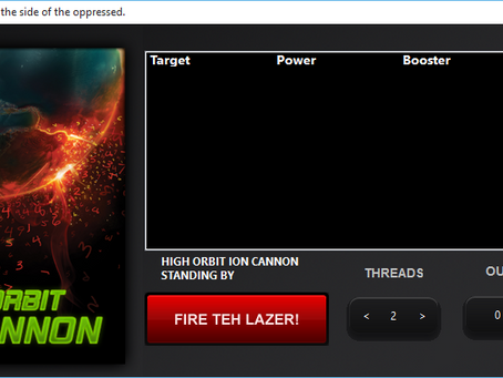 High Orbit Ion Cannon Attack