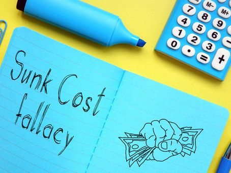 Sunk costs, creativity and your Practice