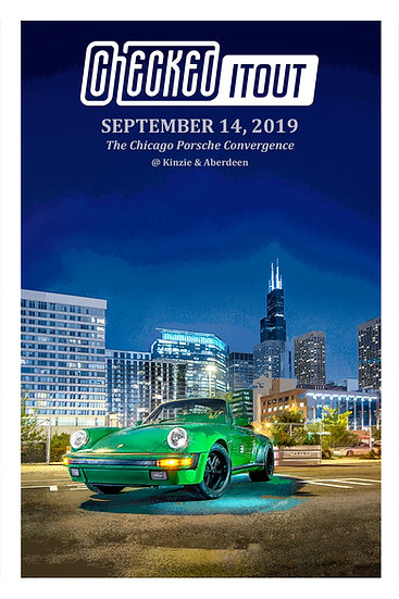 Checkeditout Chicago 2019 Limited Edition Poster