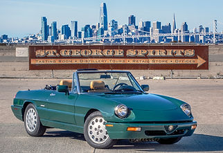 Alfa Romeo Spider San Francisco Skyline St. George Spirits