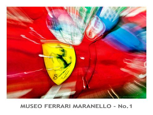 Museo Ferrari Poster