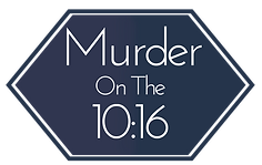 Murder on the 10:16 Logo