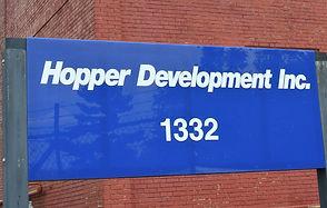 Hopper Development, Inc. parking lot view