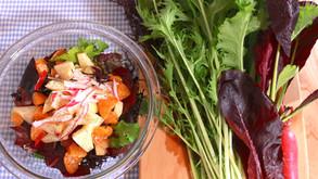 育てた野菜を食べよう!