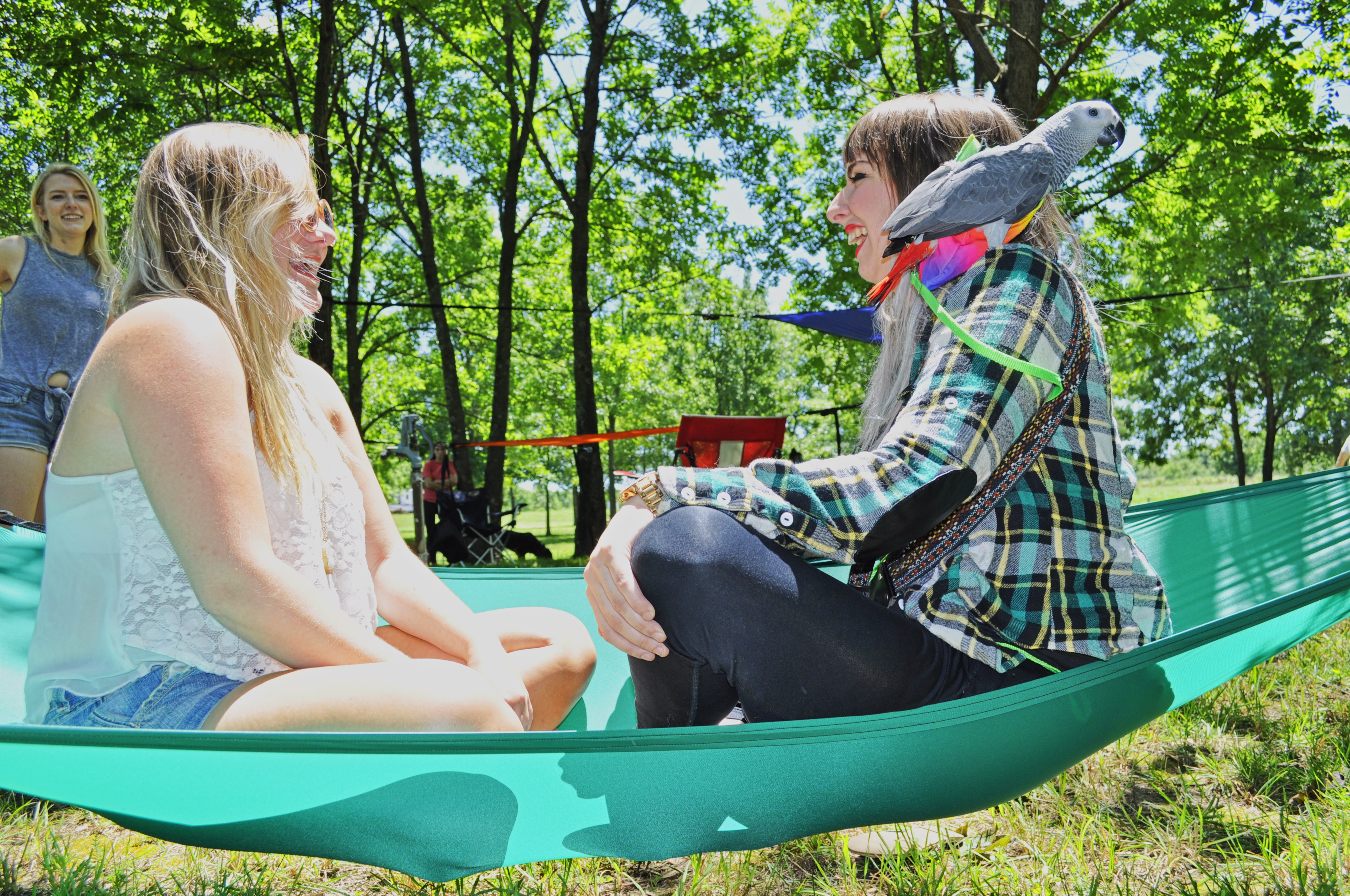 Green 3-Point Hammock