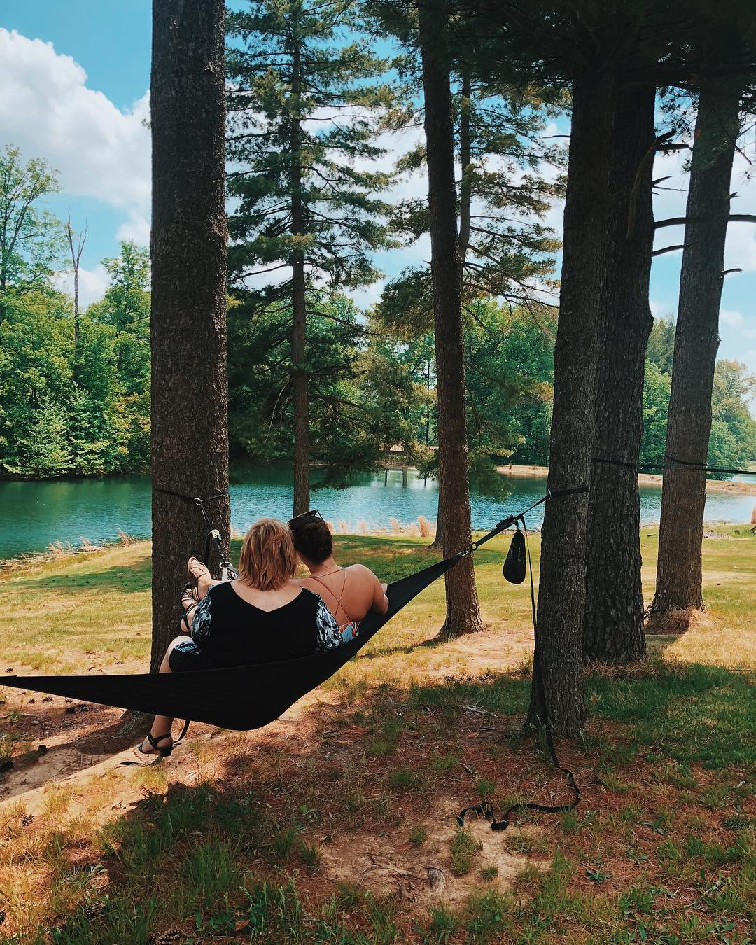 Black 3-Point Hammock