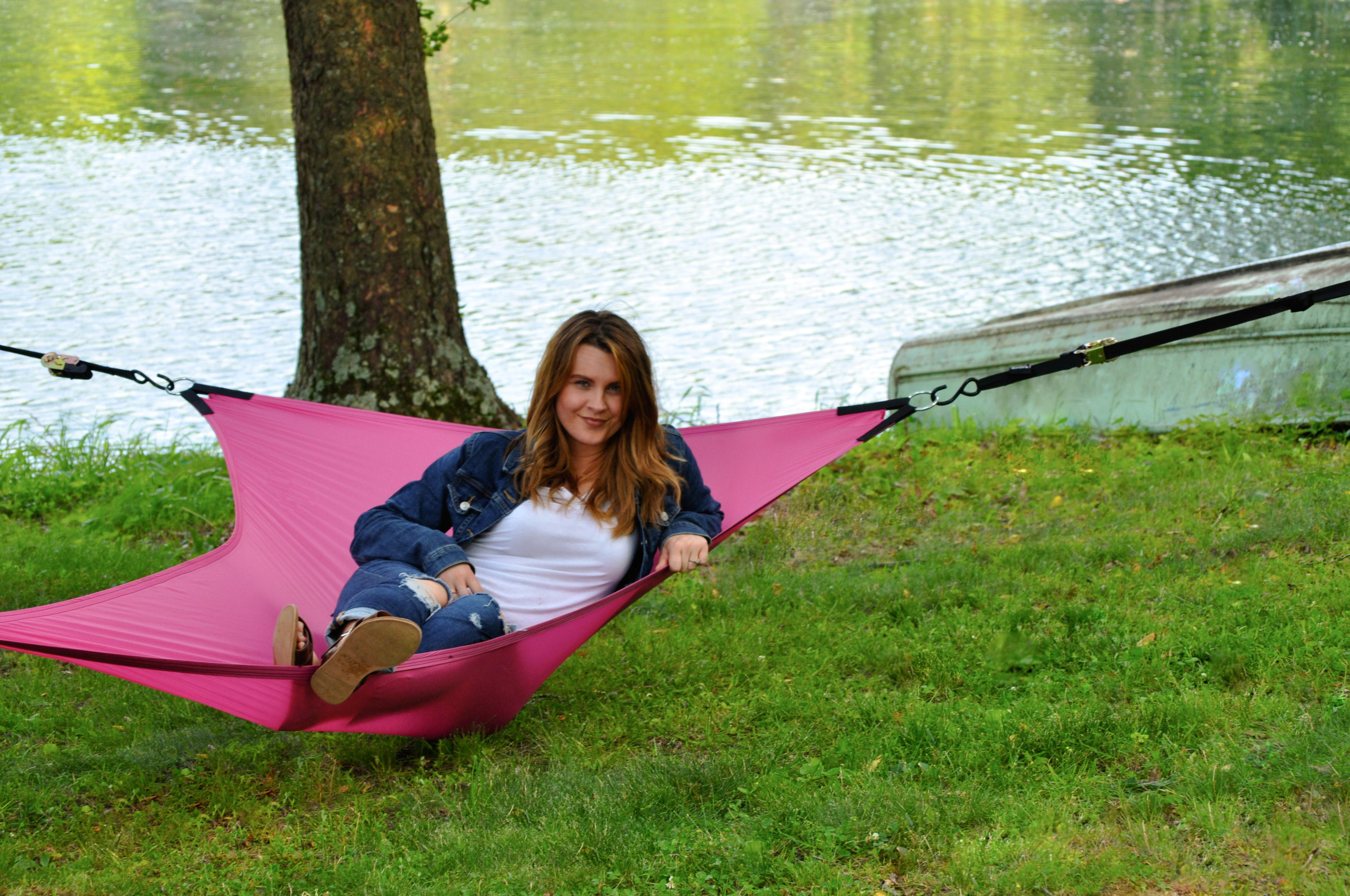 Hot Pink 3-Point Hammock