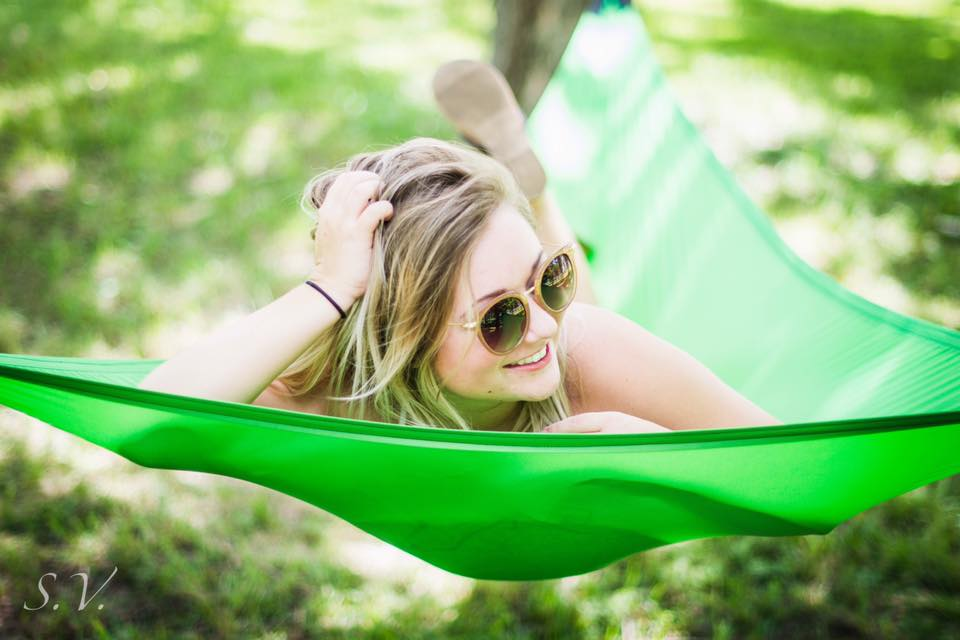 Lime 3-Point Hammock