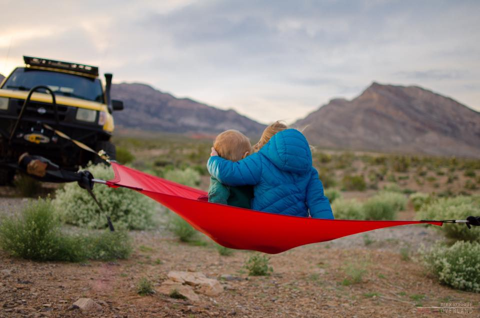 Red 3-Point Hammock