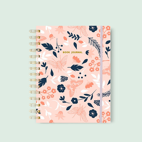 Book Journal Summer Rose