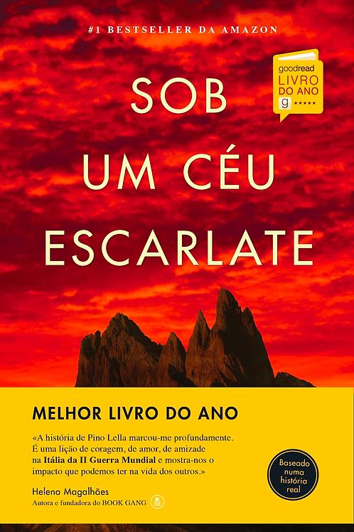 Sob um Céu Escarlate: Edição Especial Capa Dura