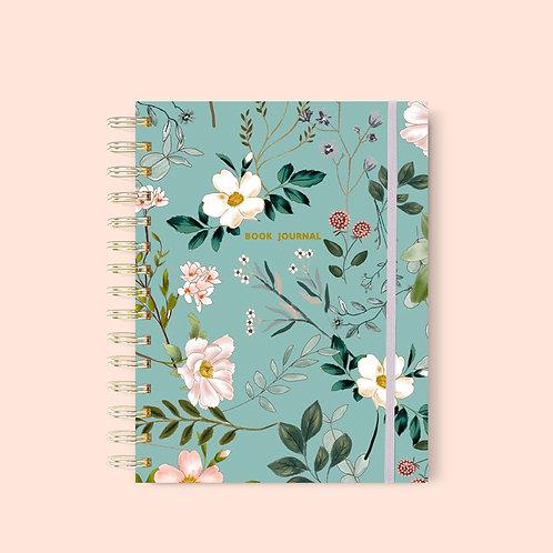 Book Journal Summer Blue